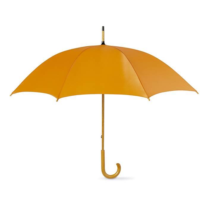 Manuální deštník oranžový