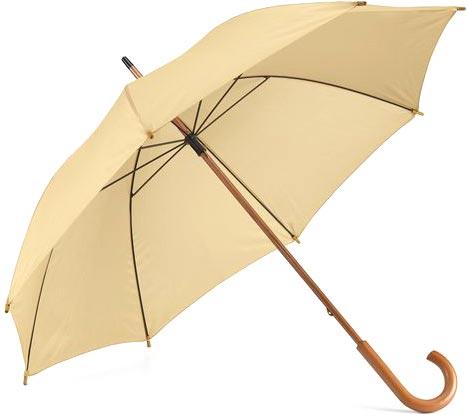 Děštník béžový