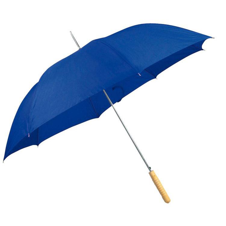 Automatický modrý deštník