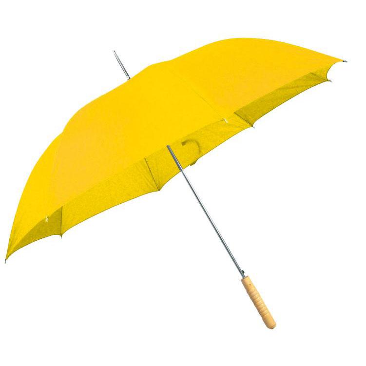 Žlutý vystřelovací deštník