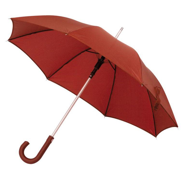 Deštník s pogumovanou rukojetí