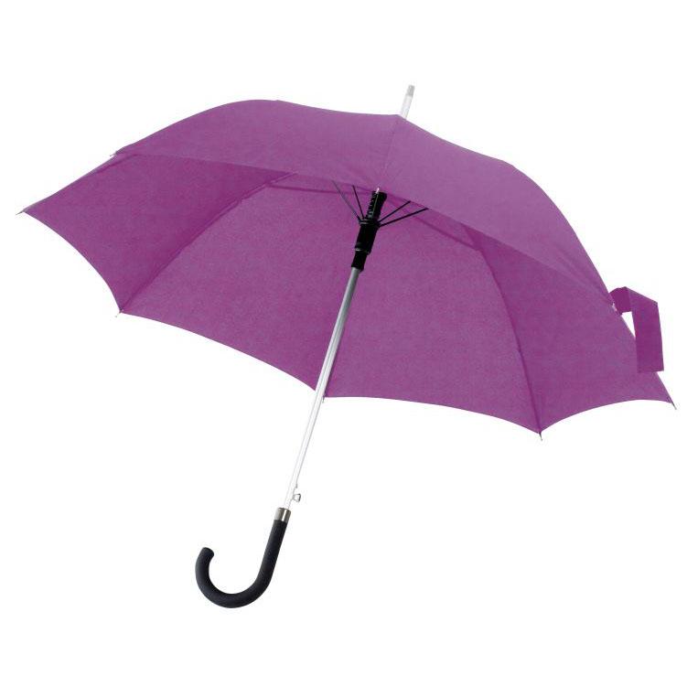 Fialový automatický deštník