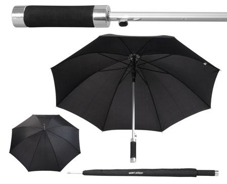 Deštník automat černý