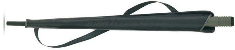 Černý deštník s EVA rukojetí