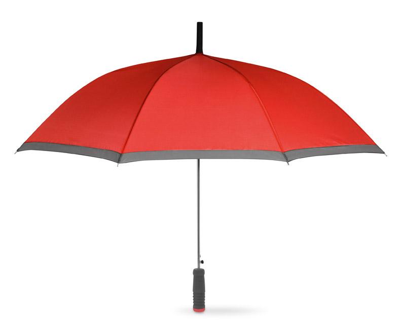 Červený deštník s EVA rukojetí