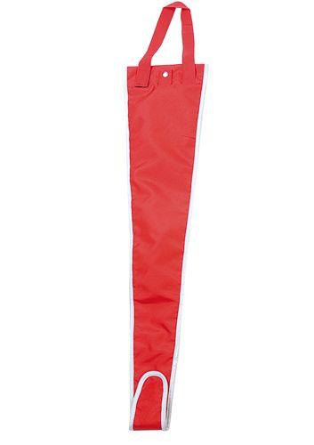 Červený obal na deštník
