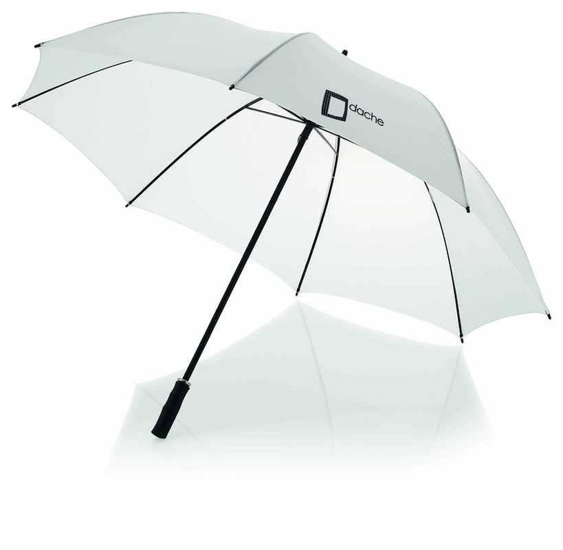 30palc. golfový deštník bílý
