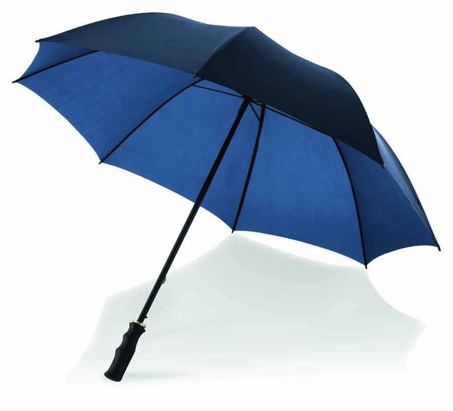 30palc. golfový deštník světle modrá