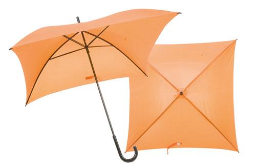 Square čtvercový deštník oranžový