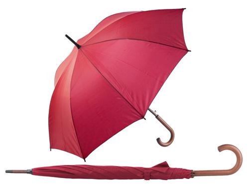 Henderson automatický červený deštník