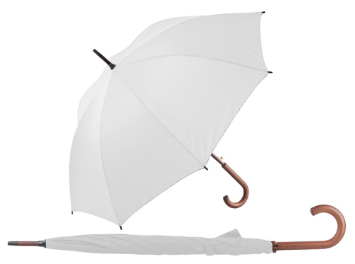 Henderson automatický bílý deštník