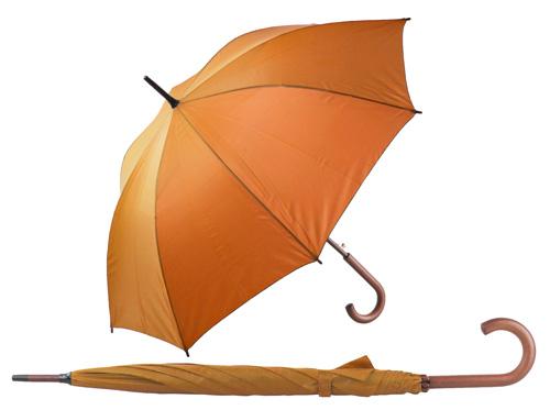 Henderson automatický oranžový deštník
