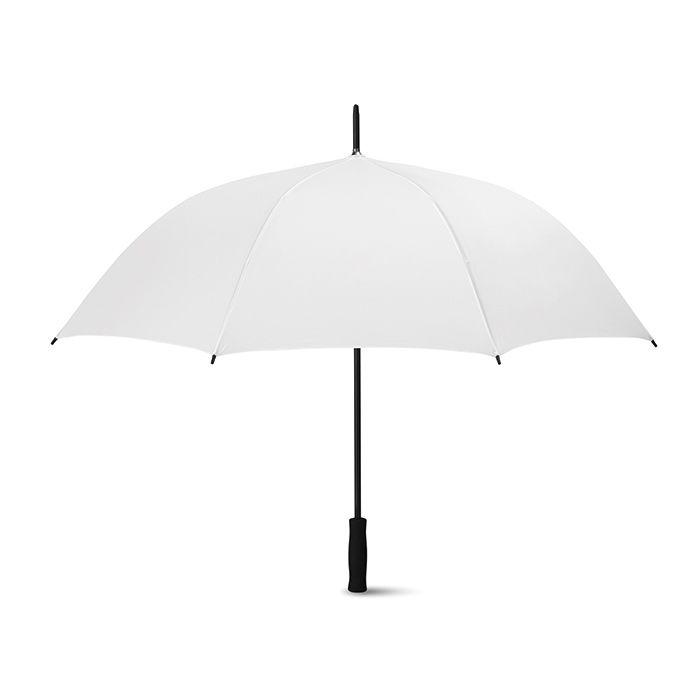 Bílý 27palcový deštník