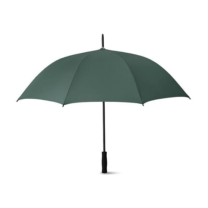 Zelený 27palcový deštník