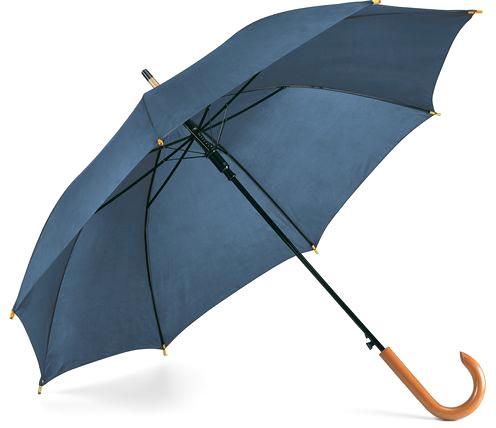Děštník modrý s potiskem