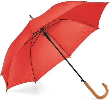 Deštník červený