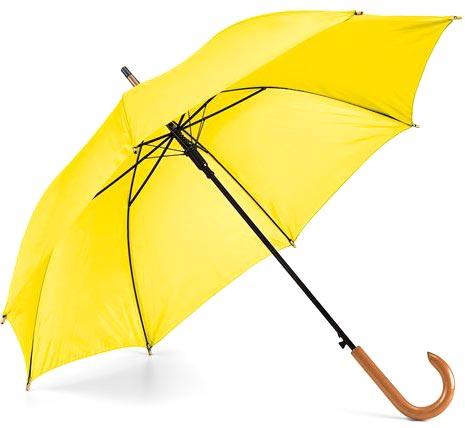 Děštník žlutý