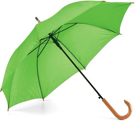 Deštník světle zelený