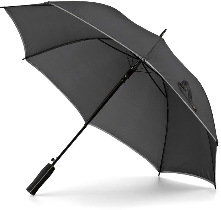 Deštník matně stříbrný