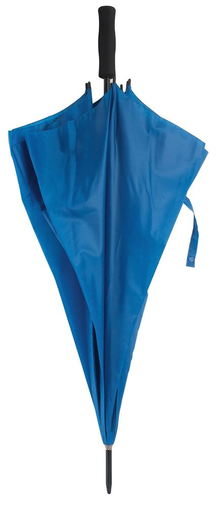 Větruvzdorný deštník modrý
