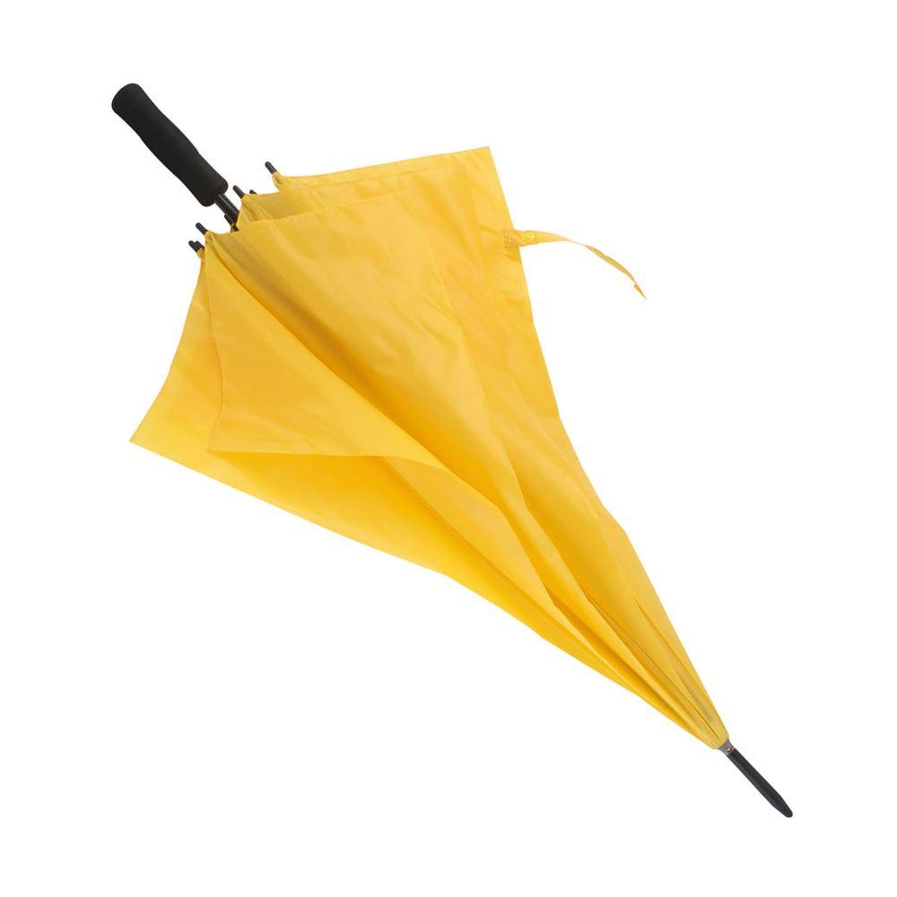 Větruvzdorný deštník žlutý