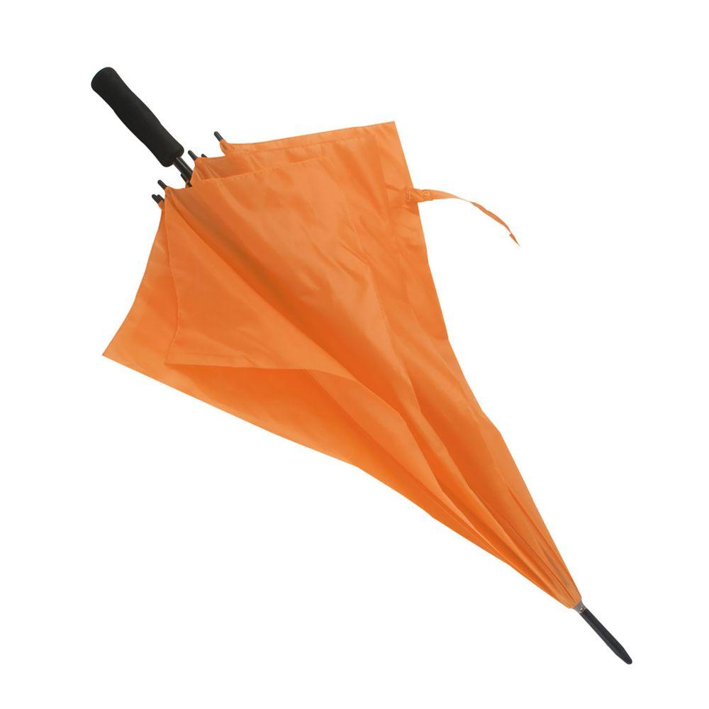 Větruvzdorný deštník oranžový