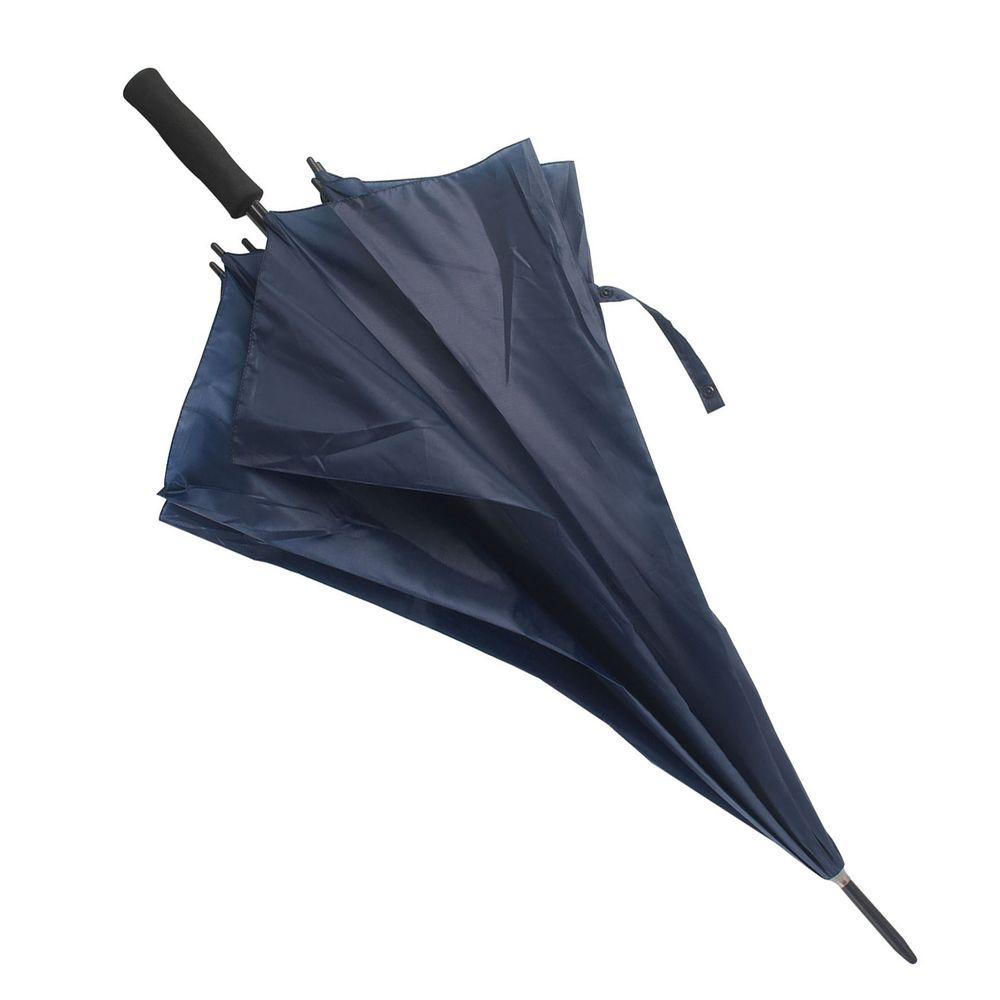 Větruvzdorný deštník tmavě modrý