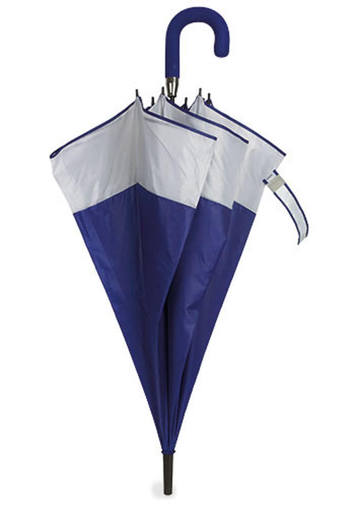 Rodinný deštník bílo-modrý