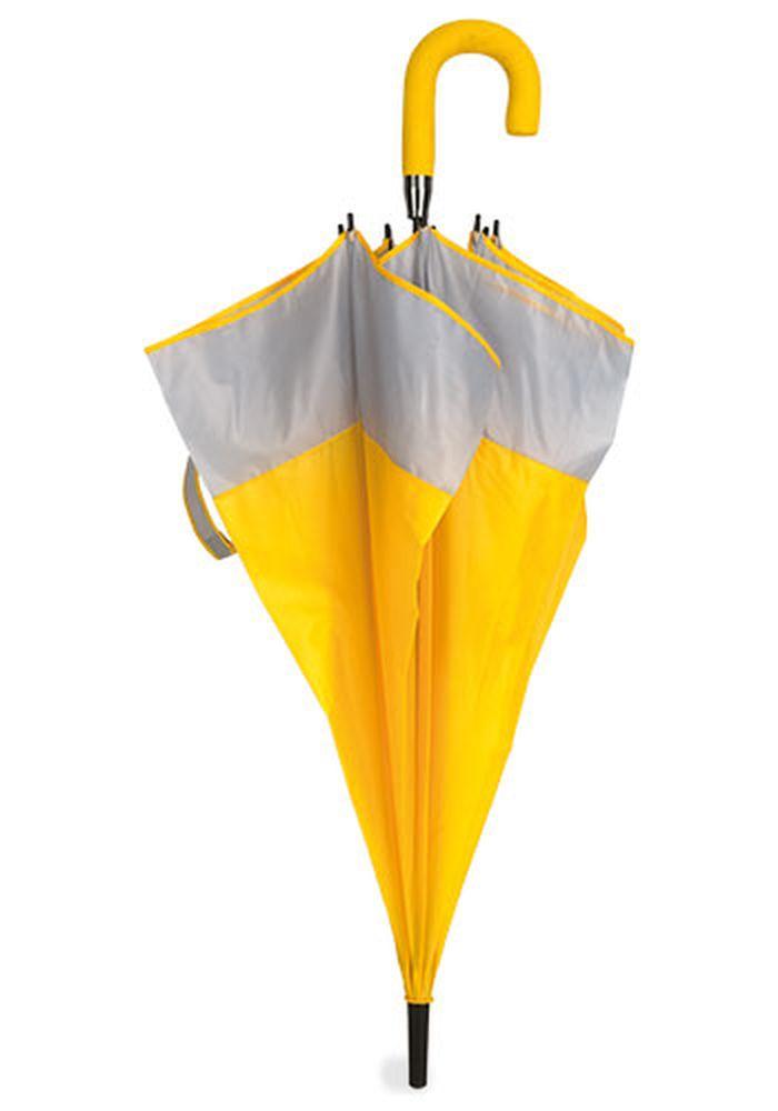 Rodinný deštník žluto -bílý