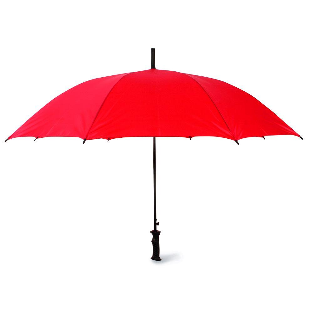 Automatický deštník červený
