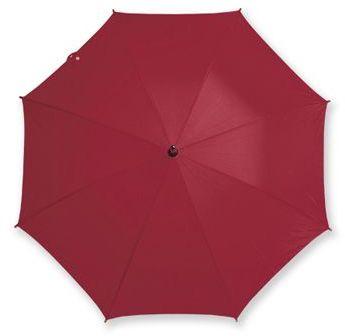 AUTOMATIC polyesterový vystřelovací deštník, 8 panelů, bordó