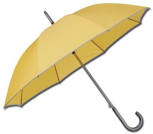 STERLING polyesterový vystřelovací deštník, 8 panelů, žlutá