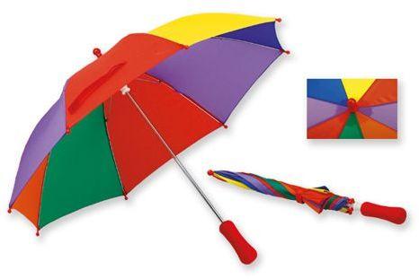 BAMBI polyesterový dětský deštník s manuálním otvíráním, 8 panelů