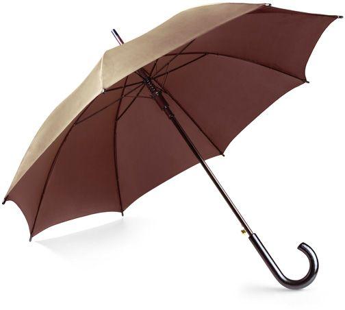 Deštník STICK hnědá