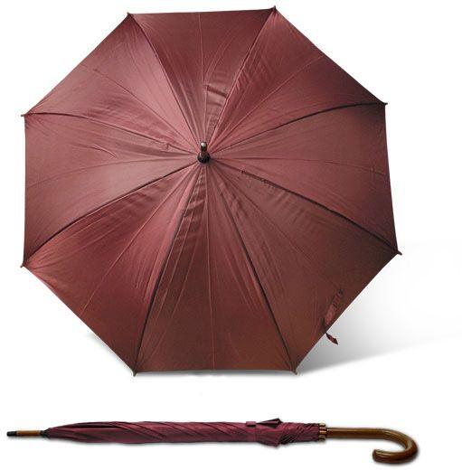 Deštník STICK vínová