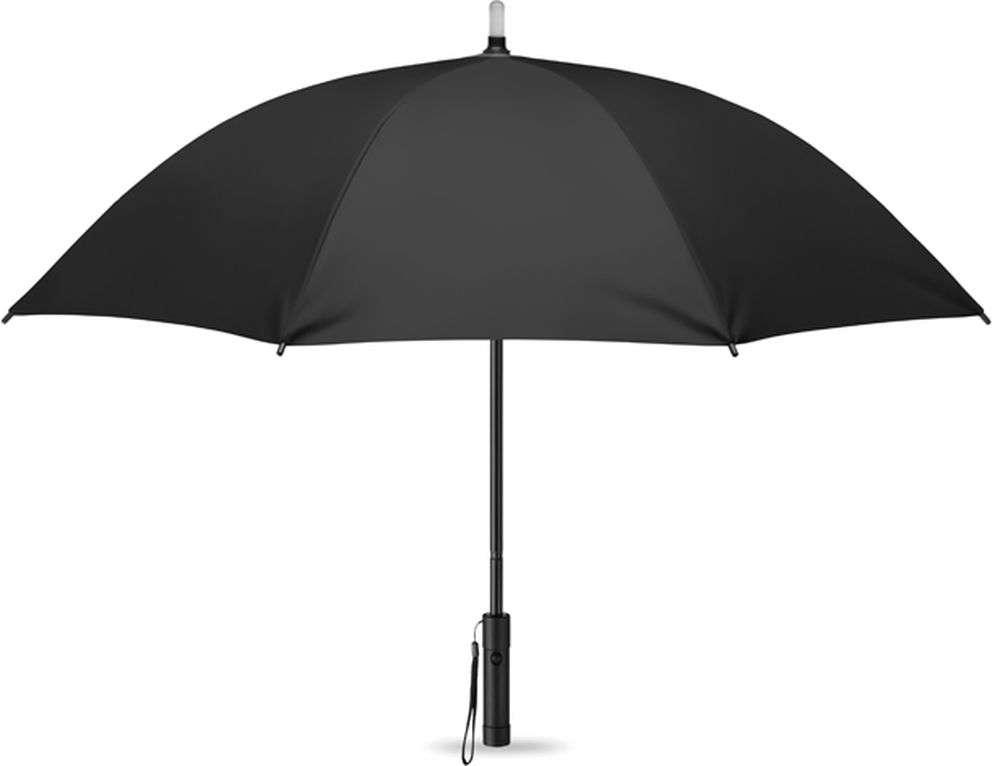 Deštník se světlem a baterkou