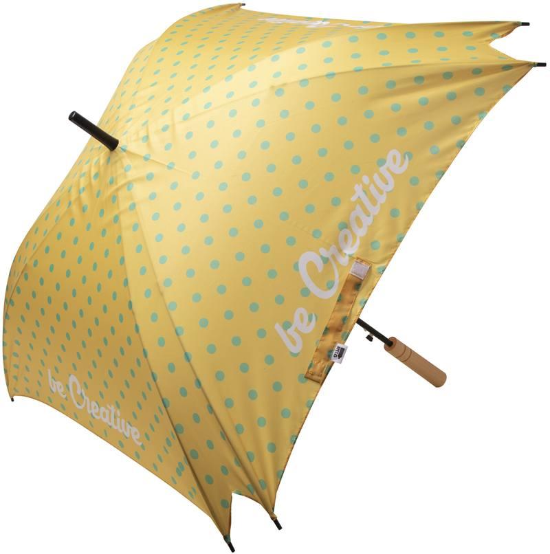Deštník na zakázku CreaRain Square RPET