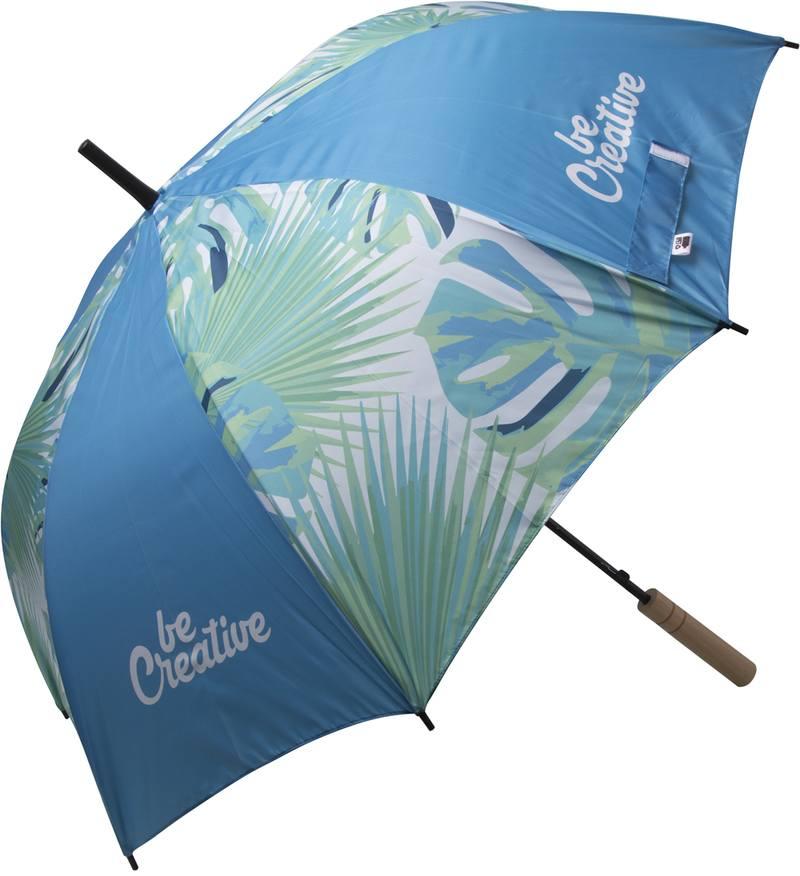 Deštník na zakázku CreaRain Eight RPET