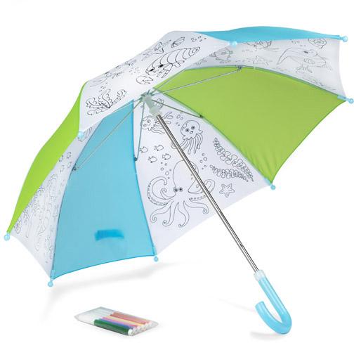 Omalovánkový deštník KIDDI