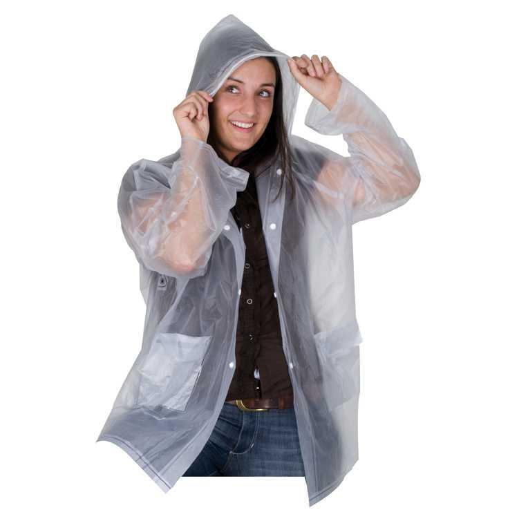 Průhledná pláštěnka
