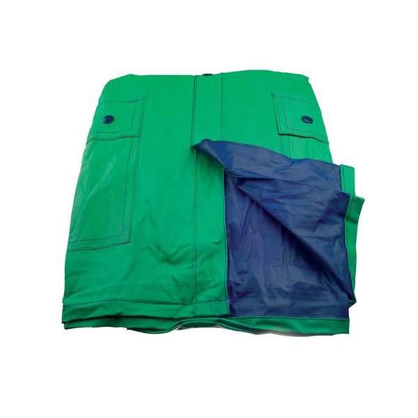 Zeleno-modrá pláštěnka