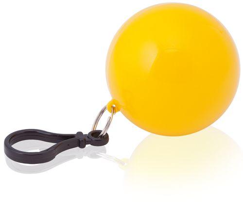 Přívěsek dětské pončo žluté