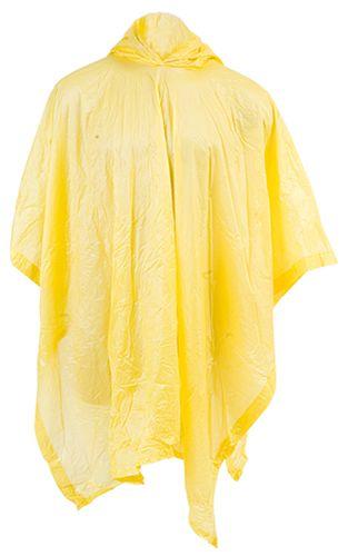 Pončo žluté