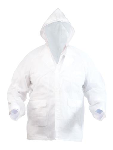 Hydrus bílá pláštěnka
