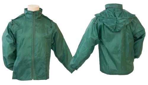 Grid zelená bunda do deště