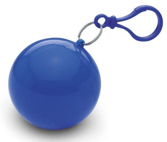 SURI igelitová pláštěnka v plastovém pouzdře, modrá