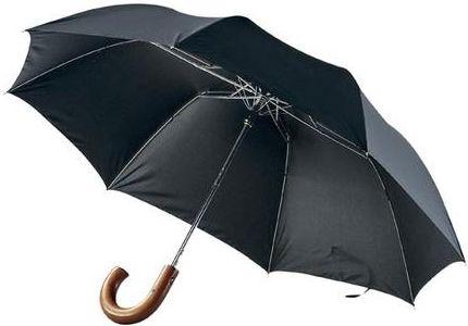 Deštník 2sekční 23 palců černý