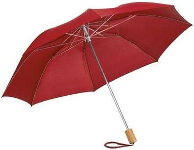 2Sekční deštník 20 palců červený