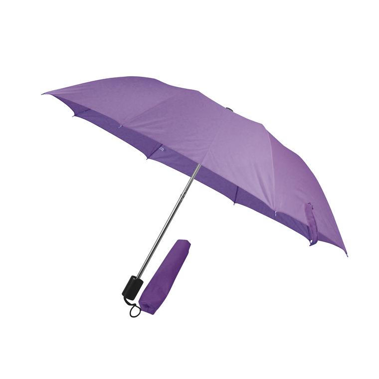 Fialový skládací deštník