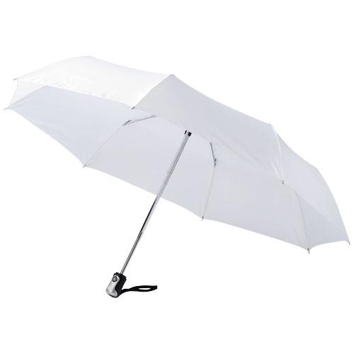 21,5 3sekční bílý deštník s automatickým otevíráním a skládáním